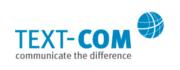 Logo TEXT-COM GmbH