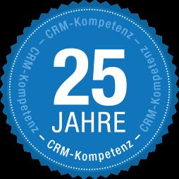 25 Jahre CRM-Kompetenz